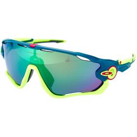 Oakley Jawbreaker Sonnenbrille matte balsam/prizm road jade